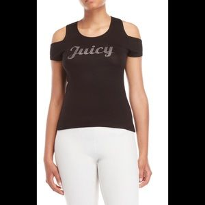 NWT | Juicy Couture Cold Shoulder Tee